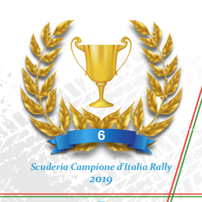 Movisport is the Italian Rally Champions winning team for the 6th year in a row!